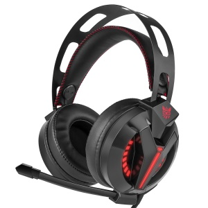 ONIKUMA M180 3.5mm Stereo Gaming Headset Over Ear Headphones with Microphone - Black
