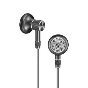 JOYROOM E205 Magnetic Heavy Bass Wired Earphone with Mic Volume Control for iPhone Samsung - Grey