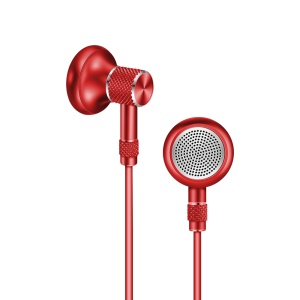 JOYROOM E205 Magnetic Heavy Bass Drive-by-wire Headphone with Mic for iPhone Samsung - Red