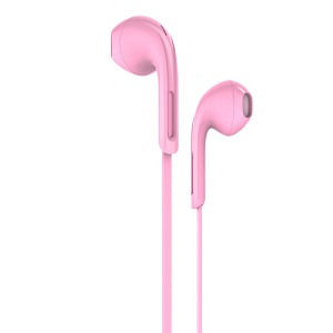 HOCO M39 Universal 3.5mm Wired Rhyme Sound Headset with Microphone - Pink