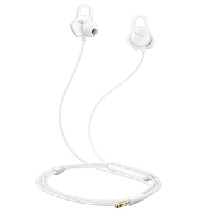HUAWEI Honor AM16 Real-time Heart Rate Mood Detection 3.5mm Smart Earphone with Mic - White