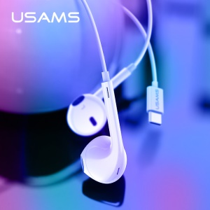 USAMS US-SJ323 EP-34 In-ear Earphone for Huawei Samsung Xiaomi Etc.