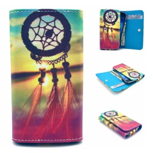 Dream Catcher Universal Leather Case Pouch for Samsung I8190 S7392 / Nokia N530, Size: 12.2 x 6 x 1.4cm