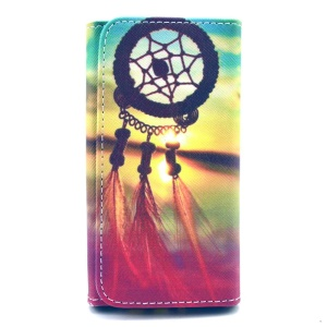 PU Leather Pouch Cover for Samsung Galaxy S6 edge+ / Note5, Size: 155 x 80 x 15mm - Dreamcatcher Sunset