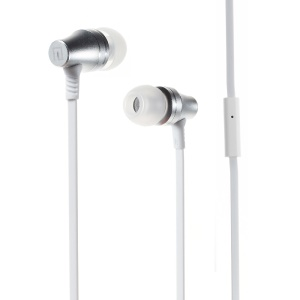 LANGSTON A2 Magnet In-ear Earphone with Microphone for iPhone Samsung - White