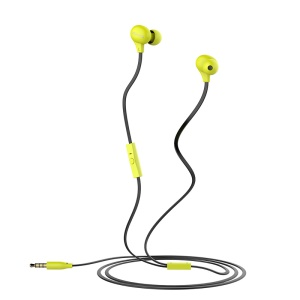 USAMS Colorful Doug Ewave Series In-ear Earphone with Mic for iPhone Samsung Sony - Green