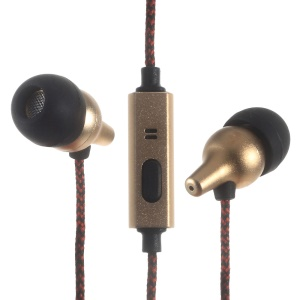 GBLUE QX16 In-ear Earphone Wired Control with Mic for iPhone Samsung Nokia