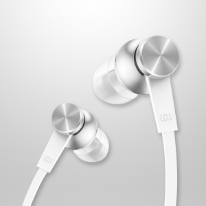 XIAOMI Piston in-Ear Earphone with Mic for iPhone Samsung HTC (Basic Version) - White