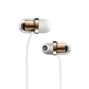 XIAOMI Capsule 45° Angle In-ear Earphone with Mic for Xiaomi iPhone - White