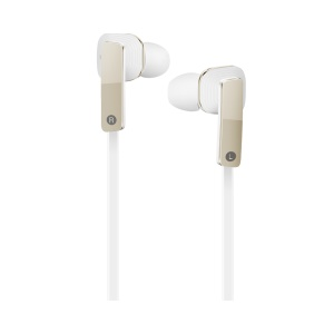 OEM Huawei Honor AM175 3.5mm Stereo In-ear Earphone Headset with Mic for iPhone/Samsung/Huawei - White