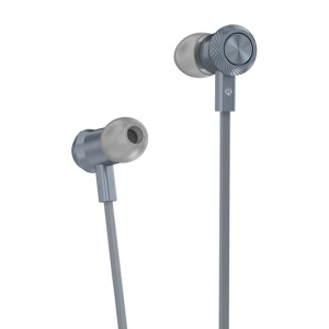 HOCO M7 Metal Wired In-ear Earphone with Remote Control for iPhone Samsung - Grey
