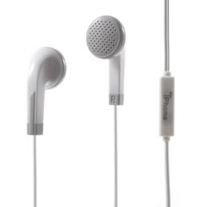 3.5mm In-ear Earphone with Remote and Mic for iPhone