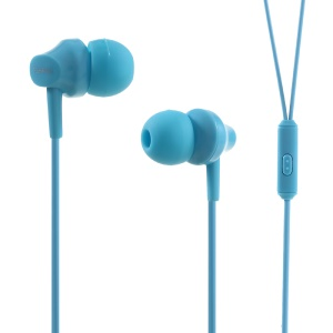 FSHANG A2 In-ear 3.5mm Earphone Headset with Microphone for iPhone Samsung - Blue