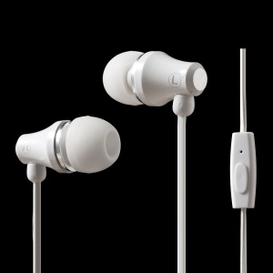 ZUOQI H016 3.5mm Metal Hi-Fi In-ear Earphone Headphone with Remote and Mic for iPhone Samsung