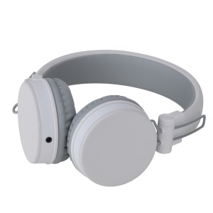 ROCK Y10 Foldable 3.5mm Wired Stereo Headphone with Mic - White