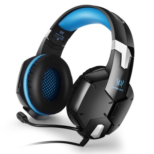 KOTION EACH G1200 3.5mm Game Headset Headband with Mic for PS4 PC Computer Laptop Smartphone - Blue