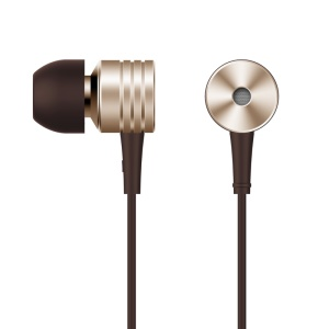 1MORE Piston In-ear Earbuds with Remote and Mic for Xiaomi iPhone Samsung etc - Gold Color