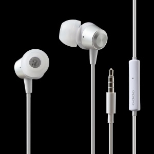 OPPO MH133 In-ear 3.5mm Earphone Stereo Sound Headset with Mic for Oppo/iPhone/Samsung