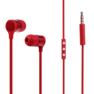 OEM HTC RC E241 Stereo Wired Headset with Mic In-line Control for HTC Samsung Etc - Red