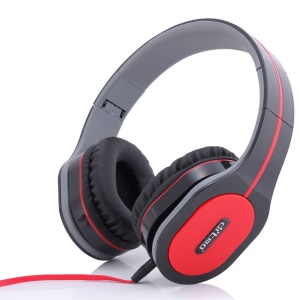 DITMO DM-2560 3.5mm Foldable Stereo Headphone Over-ear Headset for Samsung Huawei LG Etc - Black