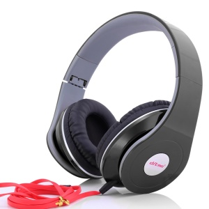 DITMO Foldable Stereo Over-ear Headphone with 3.5mm Cable (DM-2600) - Black