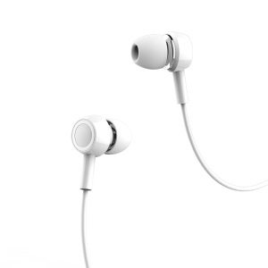 USAMS EP-12 3.5mm In-ear Stereo Headphone with Mic and Remote Control for iPhone - White