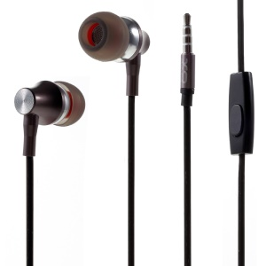 XO-S7 3.5mm In-ear Stereo Music Headphone with Microphone - Tarnish