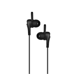 HOCO Aparo M21 3.5mm Plug Universal Wired Sporting Earphone with Ear Wing Support Hands-free Calls - Black