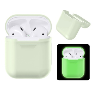 Noctilucent Shock-proof Silicone Protective Cover for Apple AirPods with Charging Case (2016)