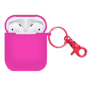Silicone Protective Case for Apple AirPods Charging Case - Rose