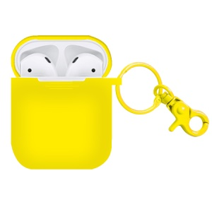 Silicone Protective Shell for Apple AirPods Charging Case - Yellow