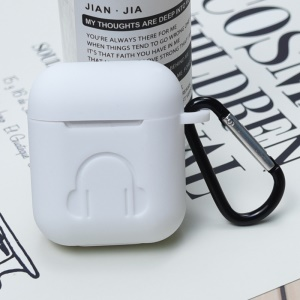 Silicone Case for Apple AirPods with Charging Case (2016) - White