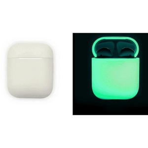 Luminous Shockproof Silicone Protective Case for Apple AirPods