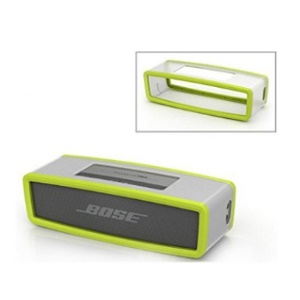 Soft TPU Protective Case Cover for Bose Soundlink Mini Bluetooth Speaker - Light Green