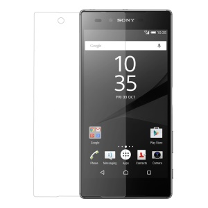 For Sony Xperia Z5 / Dual 0.25mm Tempered Glass Screen Protector Film 9H Arc Edge