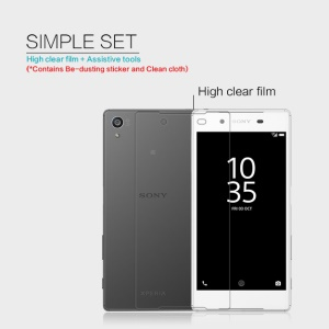 NILLKIN Ultra Clear Anti-fingerprint Screen Protector for Sony Xperia Z5 / Z5 Dual