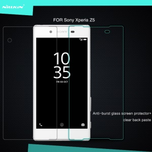 NILLKIN for Sony Xperia Z5 / Z5 Dual Amazing H Tempered Glass Screen Film Nanometer Anti-Explosion