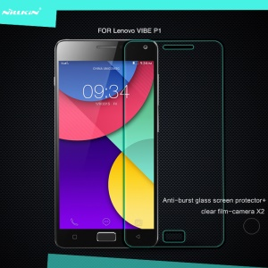 NILLKIN for Lenovo Vibe P1 Amazing H Nanometer Tempered Glass Screen Protector Anti-Explosion