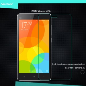 NILLKIN for Xiaomi Mi 4i / 4c Amazing H+ Tempered Glass Screen Protector Nanometer Anti-Explosion