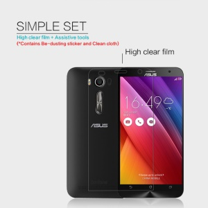 NILLKIN Ultra Clear Anti-fingerprint Screen Protector for Asus Zenfone 2 Laser ZE550KL ZE551KL