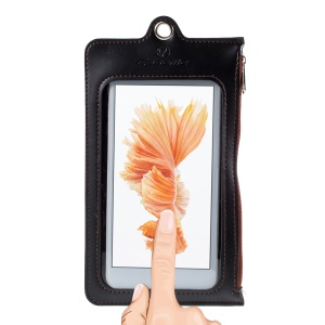 Custodia In Pelle CASEME Touch Screen Per Custodie In Pelle Caseme / Iphone 8 Ecc., Dimensioni: 15,5 X 10 Cm