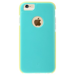 BASEUS Jump Series TPU + PC + TPE Hybrid Cover Case for iPhone 6s / 6 - Green