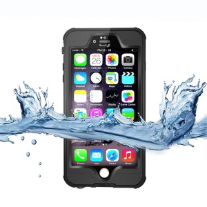 REDPEPPER Upgrade Dustproof Snowproof Waterproof Case for iPhone 6s 6 4.7-inch - Black