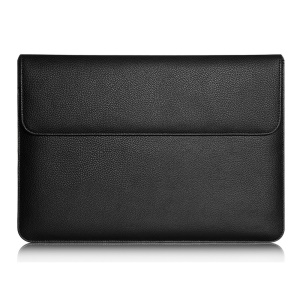 Soft Leather Pouch Bag Case Cover for Apple iPad Pro 12.9 inch - Black