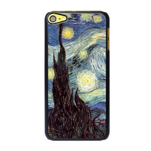 Oil Painting by Vincent Van Gogh Hard Back Cover for iPod Touch 6 - The Starry Night