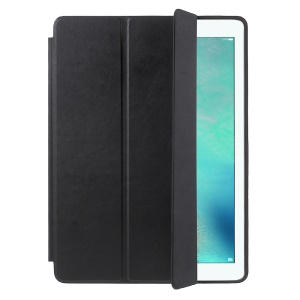 Smart Leather Shell for iPad Pro 12.9 with Tri-fold Stand - Black