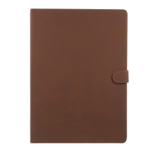 Retro Style Stand Smart Leather Protective Cover for iPad Pro 12.9 inch - Brown