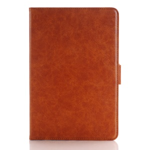 Crazy Horse Leather Smart Cover with Stand for iPad Pro 12.9 inch - Brown