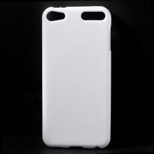 Solid Color TPU Gel Cover Shell for iPod Touch 6 - White