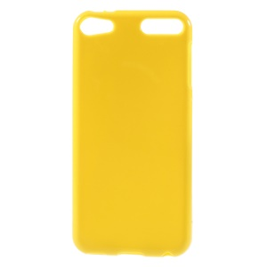 Solid Color TPU Protective Case for iPod Touch 6 - Yellow